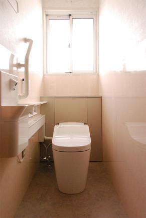 ラグジュアリーなトイレ