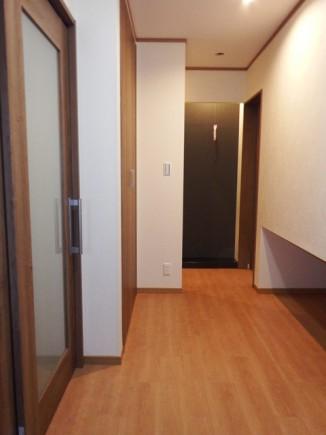 広々とした玄関
