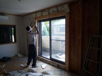 2階和室の解体