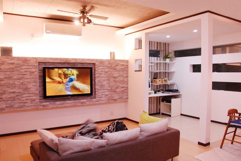 増築 壁掛けテレビ