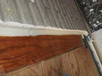 外壁貼り分け部分