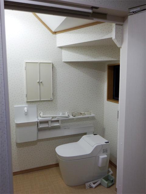 バリアフリ―トイレ