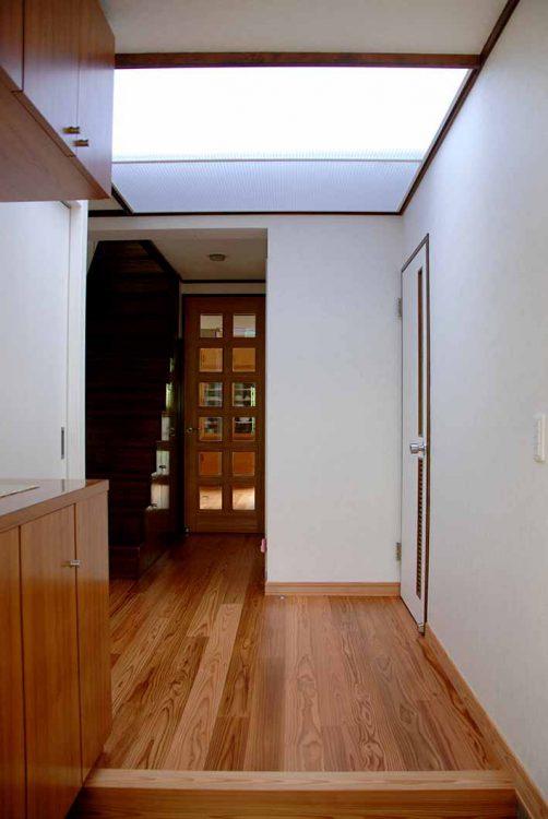 明るい玄関