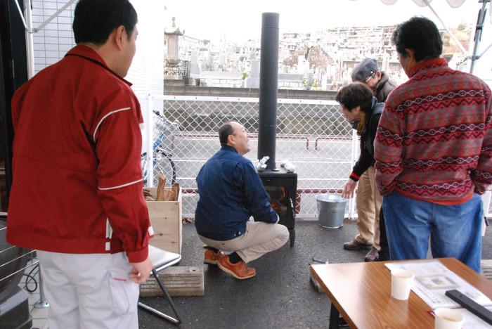 和泉市の薪ストーブ